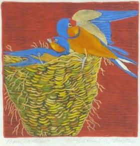 Barn Swallow (6 x 6)