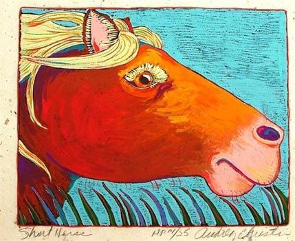 Short Horse (8 -1/4 x 6-1/2)