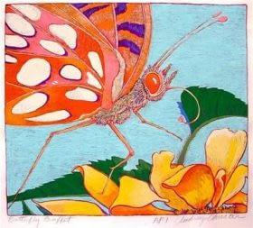Butterfly Banquet (13 1/2 x 12)