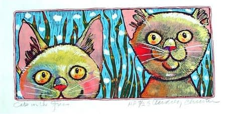 Cats in the Grass