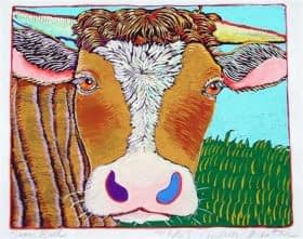 Some Bull (10 x 8)