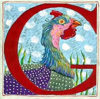 """""""G"""" is for Goose (7 x 7)"""