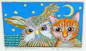 Owl and the Pussycat - closed edition