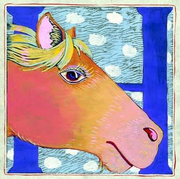"""""""H"""" is for Horse (7 x 7)"""