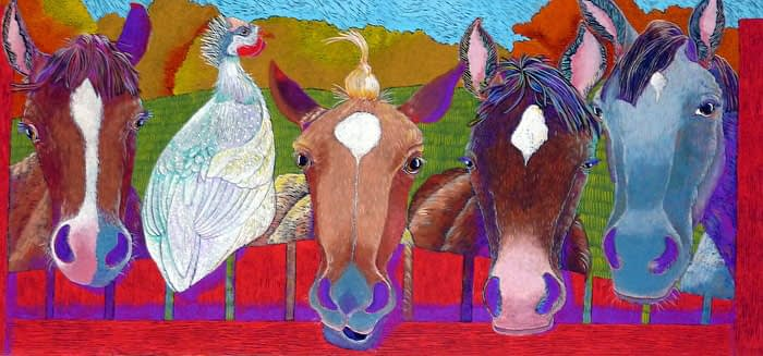 Waiting for Apples (20 x 40)