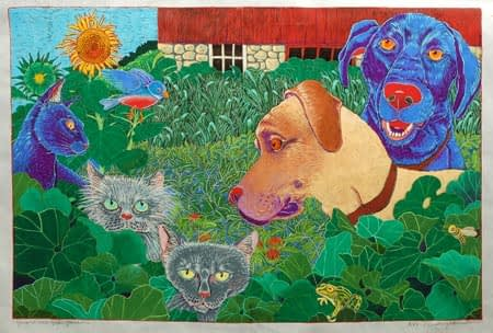 Guardians of the Garden (20 x 30)