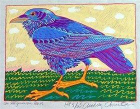 Impressive Bird (9-1/2 x 7)