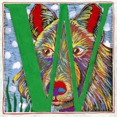 """W"" is for Wolf (7 x 7)"