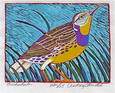 Meadowlark (4 1/2 x 6)