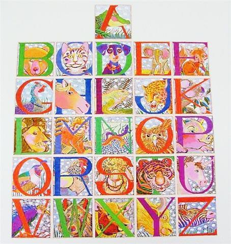 Alphabet Poster (16 x 20)