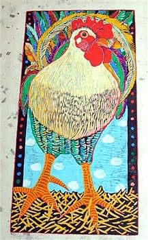 Big Bird (7 1/4 x 14 1/2)