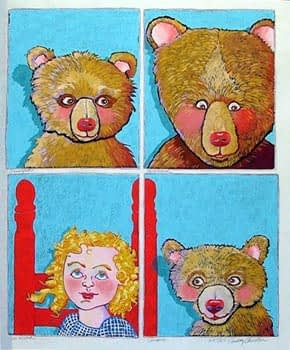 Three Bears (22 x 18)