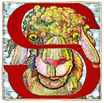 """S"" is for Sheep (7 x 7)"