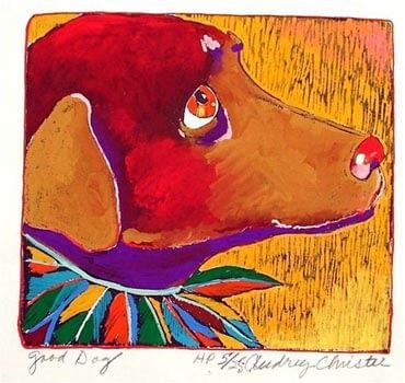 Good Dog (7-3/4 x 7)