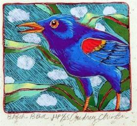 Blackbird (4-3/4 x 4-3/4)