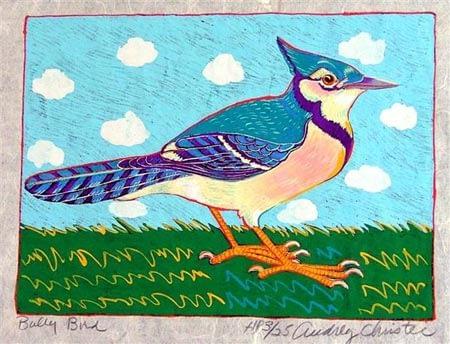 Bully Bird (9 1/2 x 7)