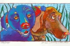 My Dogs (7 x 12-1/2)