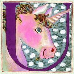 """U"" is for Unicorn (7 x 7)"