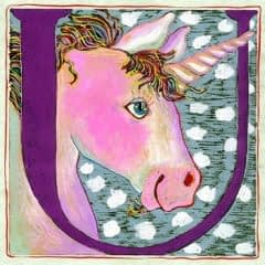 """U"" is for Unicorn (7 x 7)"