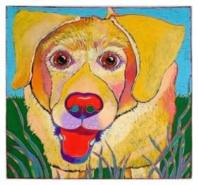Yellow Lab (12 x 13)