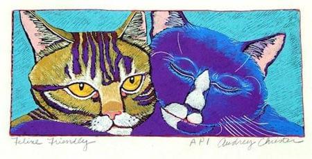 Feline Friendly (5 x 11)