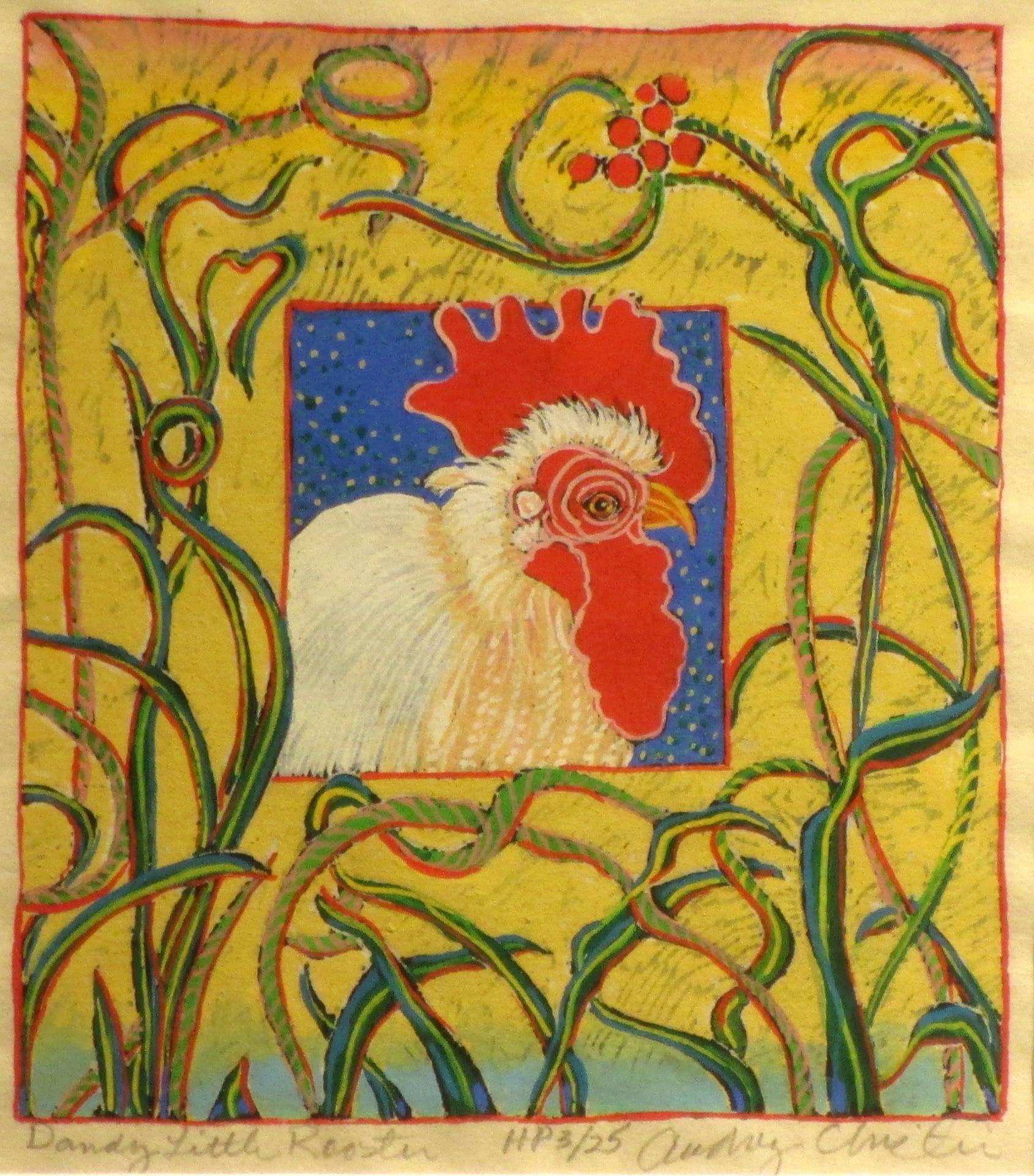 Dandy Little Rooster (5-1/2 x 6)