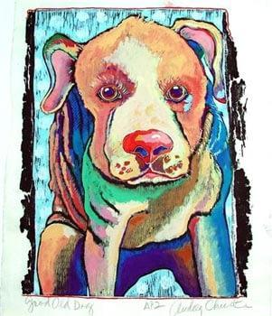 Good Old Dog (11 x 8-1/2)