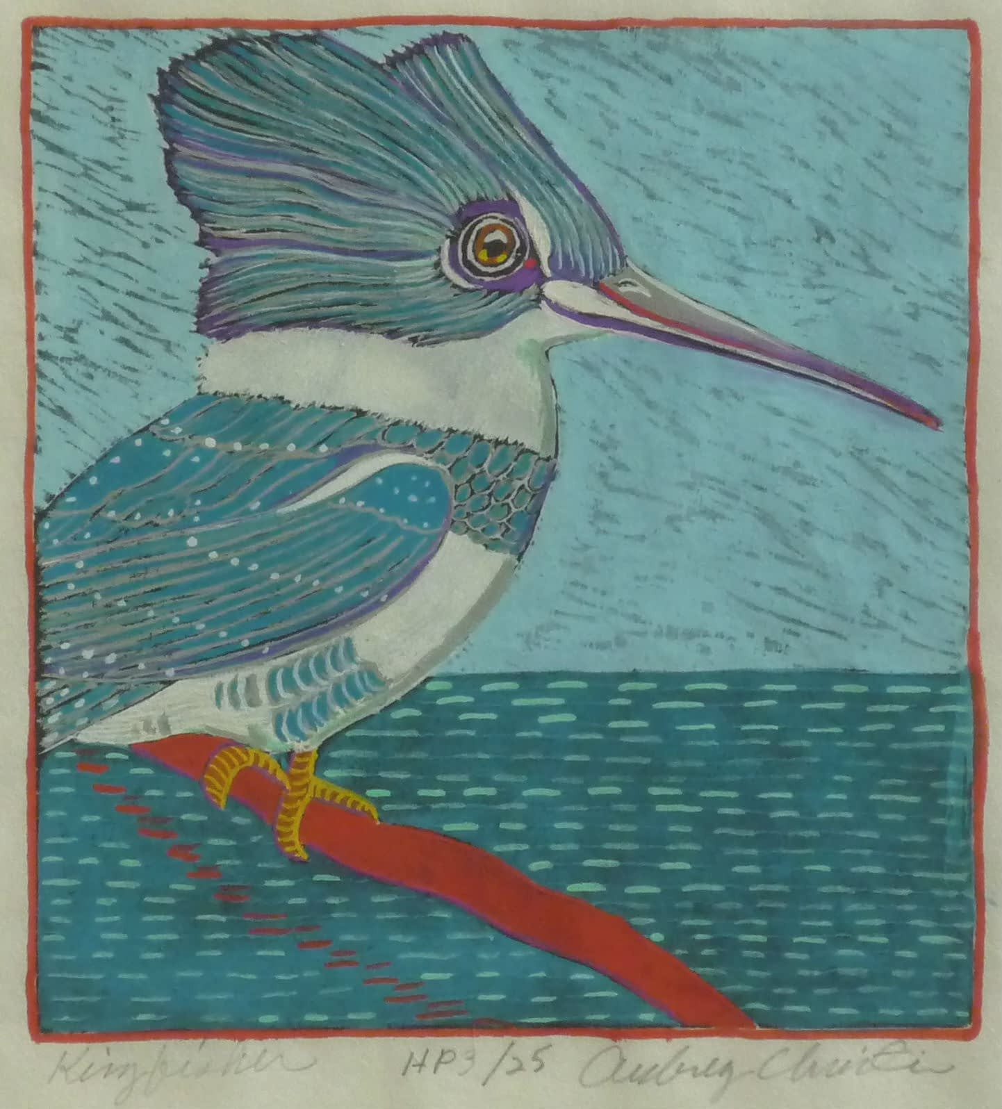 Kingfisher (6 x 6)