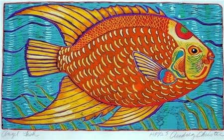 Angel Fish (12 x 7)