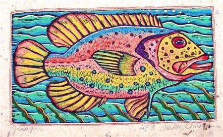 Grouper (10 x 5 1/2)